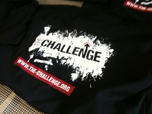 Printed hoodies & t-shirts for THe Challenge Network
